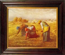 The Gleaners Framed Print (25 x 30cm)