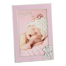 New Baby Girl Frame with Bear Icon