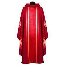 Red and Gold Chasuble