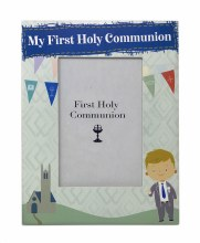 Boy First Holy Communion Photo  Frame