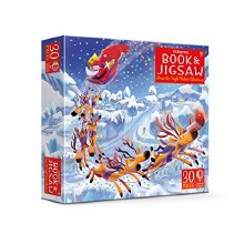 Twas the Night Before Christmas, book and Jigsaw
