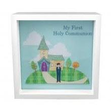 Boy First Communion Light Up Box