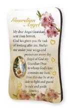 Guardian Angel Wood Plaque Magnet