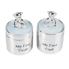 CG532B Baby Boy First Tooth and Curl Box set