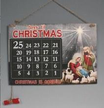 Nativity Blackboard Countdown Advent Calendar