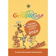2021 Get Up and Go Young Person's Diary, paper