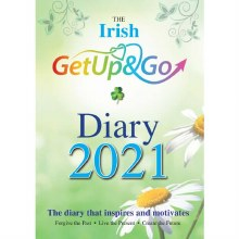 2021 Irish Get Up and Go Diary, padded cover