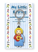 Sacred Heart of Jesus Children's Keyring