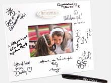 Communion Signature Frame with Pen