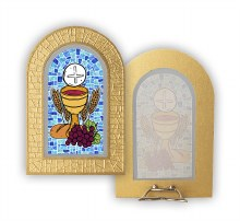 First Holy Communion Stain Glass Plaque