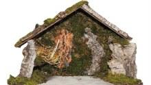 Traditional Nativity Shelter
