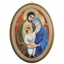 Holy Family Modern icon (20 x 15cm)