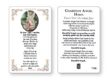 Guardian Angel Prayer Card