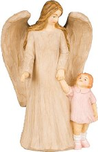 Guardian Angel with Girl (12.5cm)