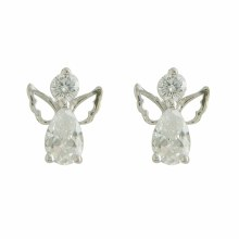 Angel Sterling Silver Earrings