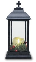 Christmas LED Grave Lantern 30cm