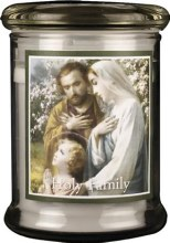 Holy Family LED Candle
