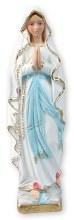 Lourdes Plaster Statue (20cm)