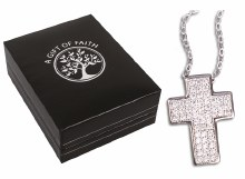 Sterling Silver Cross and Chain