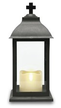 Christmas LED Grave Lantern 18cm