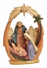 10025540  Holy family Nativity Scene 21cm