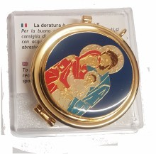 Dark Blue Holy Family Pyx