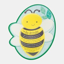 The Bee Attitudes Shaped Plaque