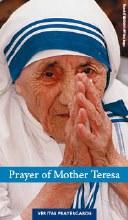 Prayer of Mother Teresa Prayercard