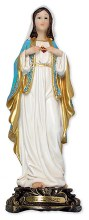 Florentine Sacred Heart of Mary Statue (30cm)