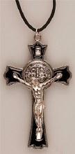 Metal Benedict Crucifix (8cm)