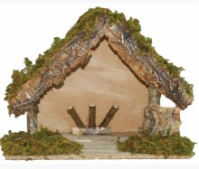 Small Nativity Shelter