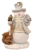 687841 Christmas snowman 20cm