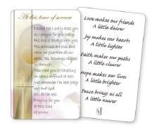 Grief Prayer Leaflet