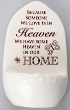 Someone in Heaven Holy Water Font