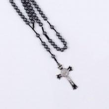 Large Hematite Rosary Beads