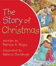 The Story of Christmas board book Red