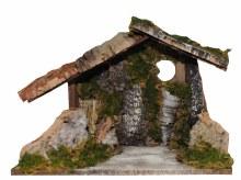 Natural Line Nativity Shelter