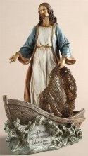Christ The Fisherman Statue (28 cm)