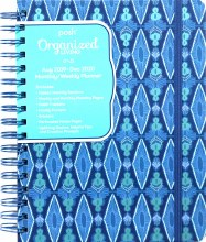 Posh: Organized Living 2019-2020 Monthly/Weekly Planning Calendar: Blue Lagoon