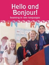 Hello and Bonjour! learning in two languages