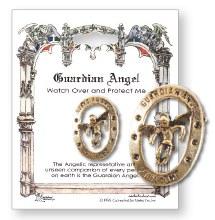 Guardian Angel Metal Brooch