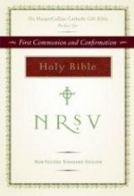 HarperCollins Catholic Gift Bible, Burgundy: First Communion and Confirmation