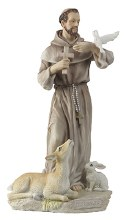 St Francis Veronese Statue (21cm)