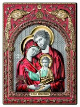 Holy Family Colour Icon (30 x 25 cm)