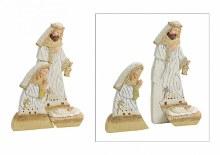 Cream Two Piece Nativity Scene