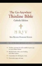 NRSV Go-Anywhere Thinline Bible Catholic Edition (Bonded Leather Black)