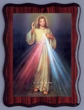 8143 Divine Mercy Laminated Picture
