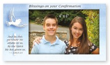 Confirmation Art Metal Photo Frame