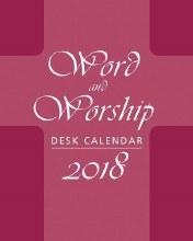 2018 Word and Worship Desk Calendar