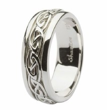 Sterling Silver Celtic Gents Ring